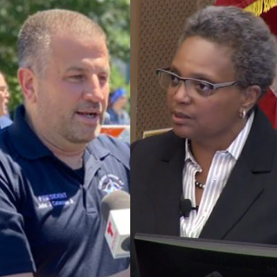Chicago Showdown: Lightfoot vs. Police on Vaccines