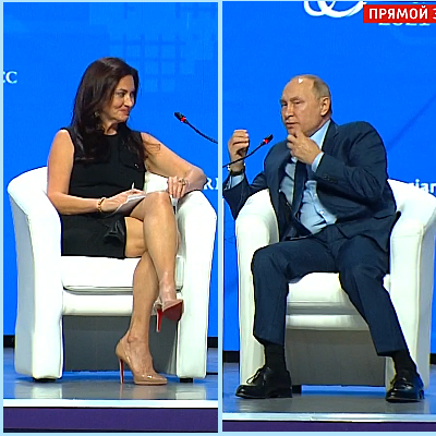 Insecure, Sexist Russians Claim Beautiful Reporter Is SpecialOps