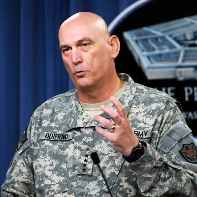 General Odierno, Former Army Chief of Staff, R.I.P.