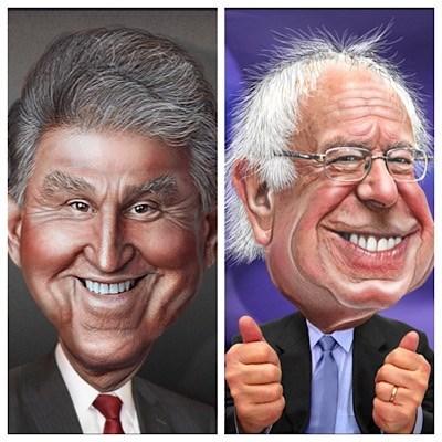 Bernie Sanders Tries, Fails At Shaming Joe Manchin