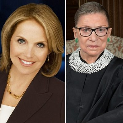 """Katie Couric Admits To Editing RBG To """"Protect"""" Her"""