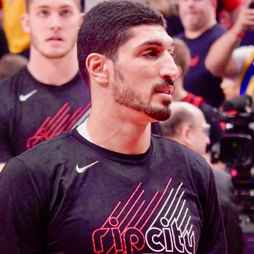 Enes Kanter Takes On China With Shoes And Tweets